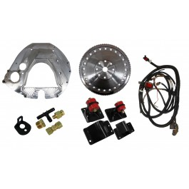 Getting Started Package: Ford 2003-2007, 6.0L, ZF6, 2003-2009, Common Rail Cummins. Includes Street Dual Disk Clutch