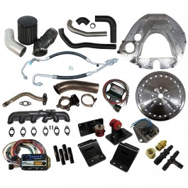 Comprehensive Package: Ford 1999-2004, 5.4L & 6.8L Gas, 4R100, to 1998.5-2002 Cummins 24 Valve