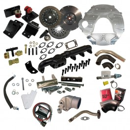 Comprehensive Package: Ford 2008-2010, 6.4L, ZF6, 1989-1998 12 Valve. Includes Choice of Clutch kit