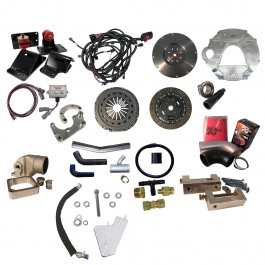 Comprehensive Package: Ford 2008-2010, 6.4L, ZF6, 2003-2009 Commonrail. Includes Street Dual Disc Clutch Kit