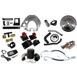 Comprehensive Kit: Ford 2003-2007, 6.0L, ZF6, 2003-2009, Common Rail Cummins. Includes Street Dual Disc Clutch Kit.
