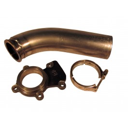 "Turbo Exhaust Adaptor Kit - for 24 Valve: Includes 3"" down pipe section"