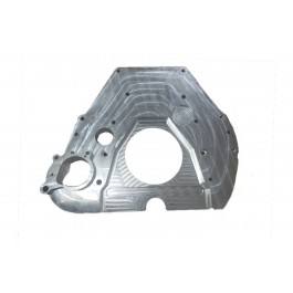 Adapter Plate- 12V / 24V Replacing 7.3L E4OD & 4R100. Requires Ford 6.4L starter and 2175 Flex Plate