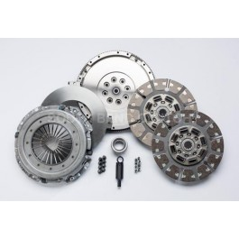 Clutch Kit 99-03 Ford 7.3-6 Speed to Cummins, High Performance Dual Disc (550 hp, 1100 ft/lbs)