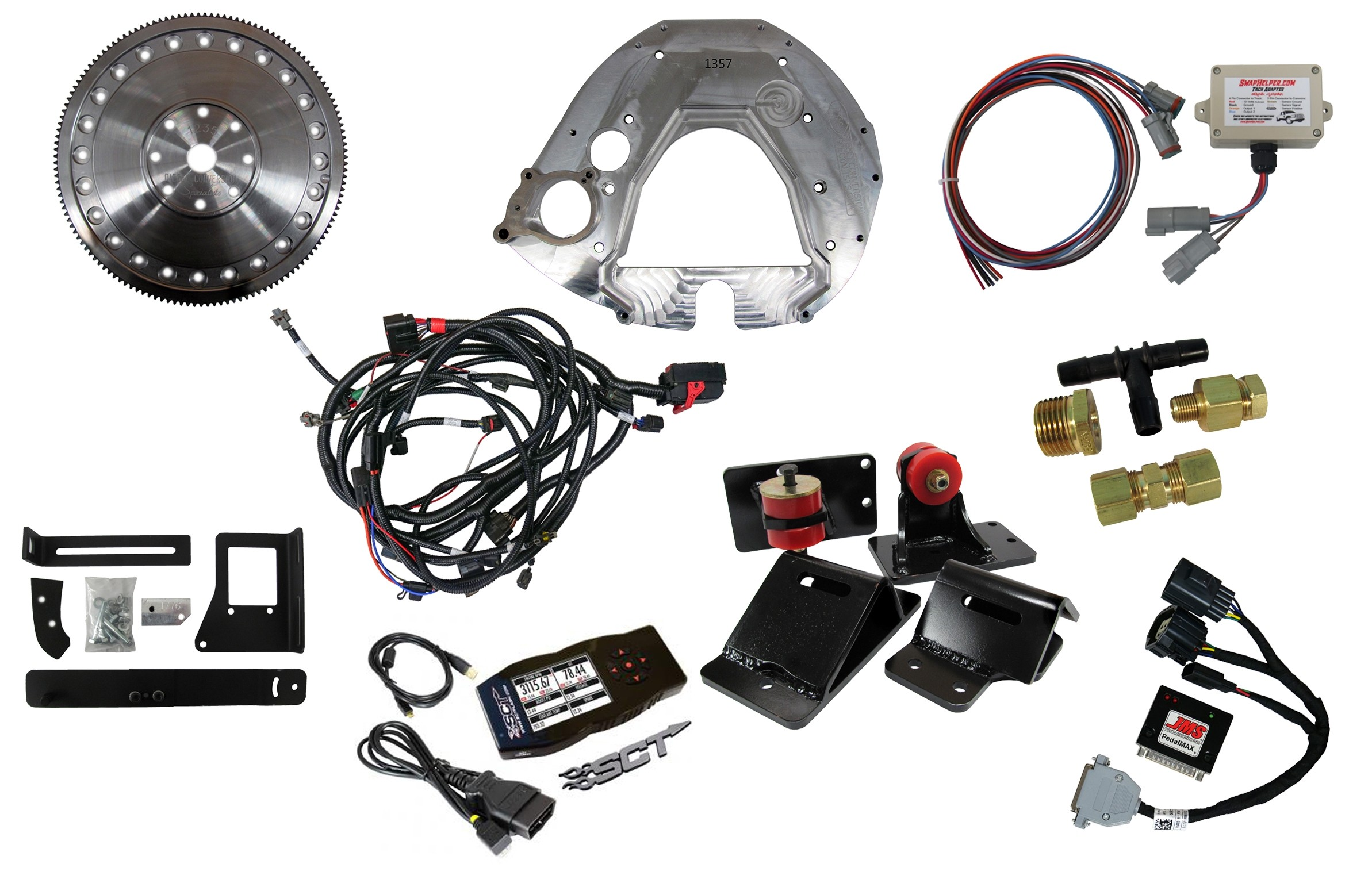 Getting Started Package: Ford 2008-2010, 6 4L, 5R110, 2003