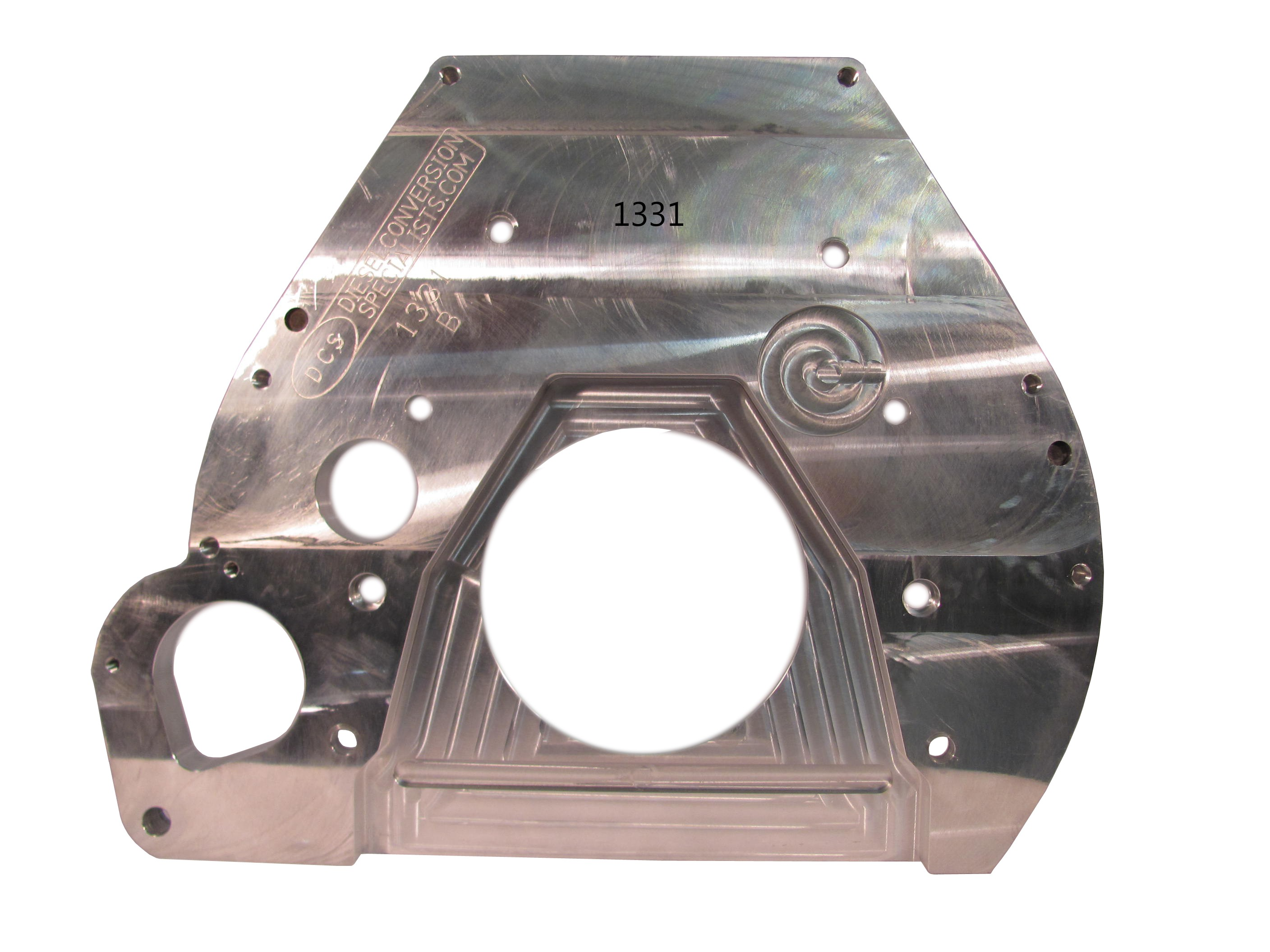 Adapter Plate - 12V/24V to 1987-1997 Ford 460 Gas, ZF-5