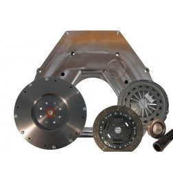 Adapter Plate Kit - 2003-2009 Cummins to 1999-2003 7.3L ZF-6, Includes Clutch Kit
