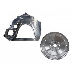 Adapter Plate and Flex Plate - 12V/24V to Turbo 350, 400, 700R4. Requires Ford 6.4L starter
