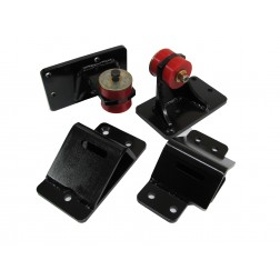 Engine Mounts: 2008-2010 Ford with 1989-2002 12 Valve & 24 Valve Cummins