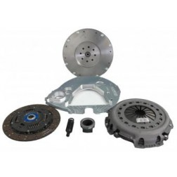 Adapter Plate Kit - 2003-2009 Cummins to 2003-2007 Ford ZF-6, Includes Clutch Kit