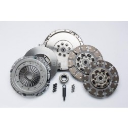 Clutch Kit 87-97 Ford ZF-5 Speed to Cummins, High Performance Dual Disc (550 hp, 1100 ft/lbs)