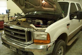 have us do the bulk of the wiring work for you by sending in your 7 3l engine  harness to be modified, as we do with the 2003 and newer cummins engines